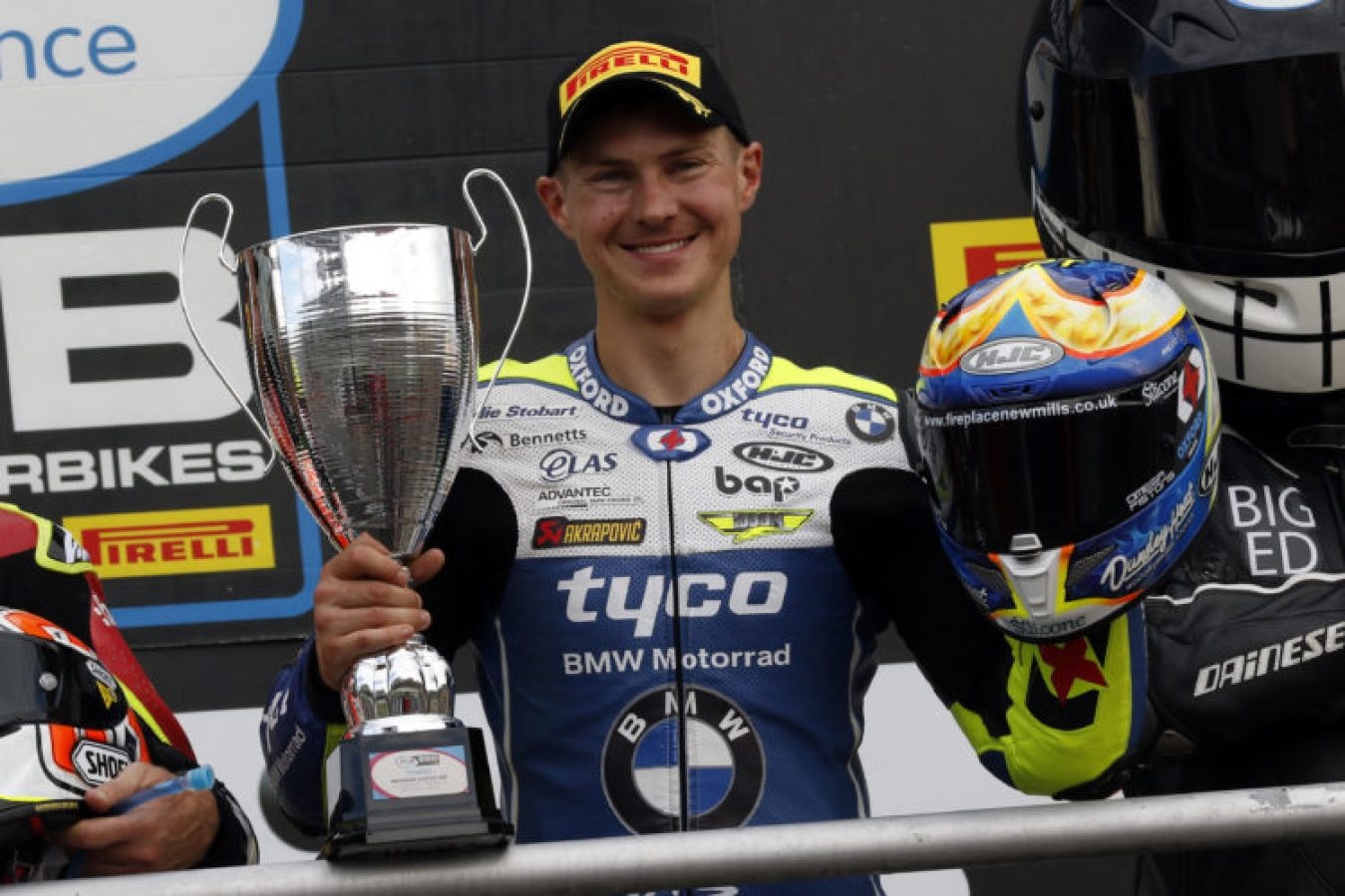 Christian Iddon was back on the podium at Brands Hatch