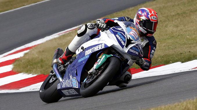 Adam Jenkinson on track at Snetterton