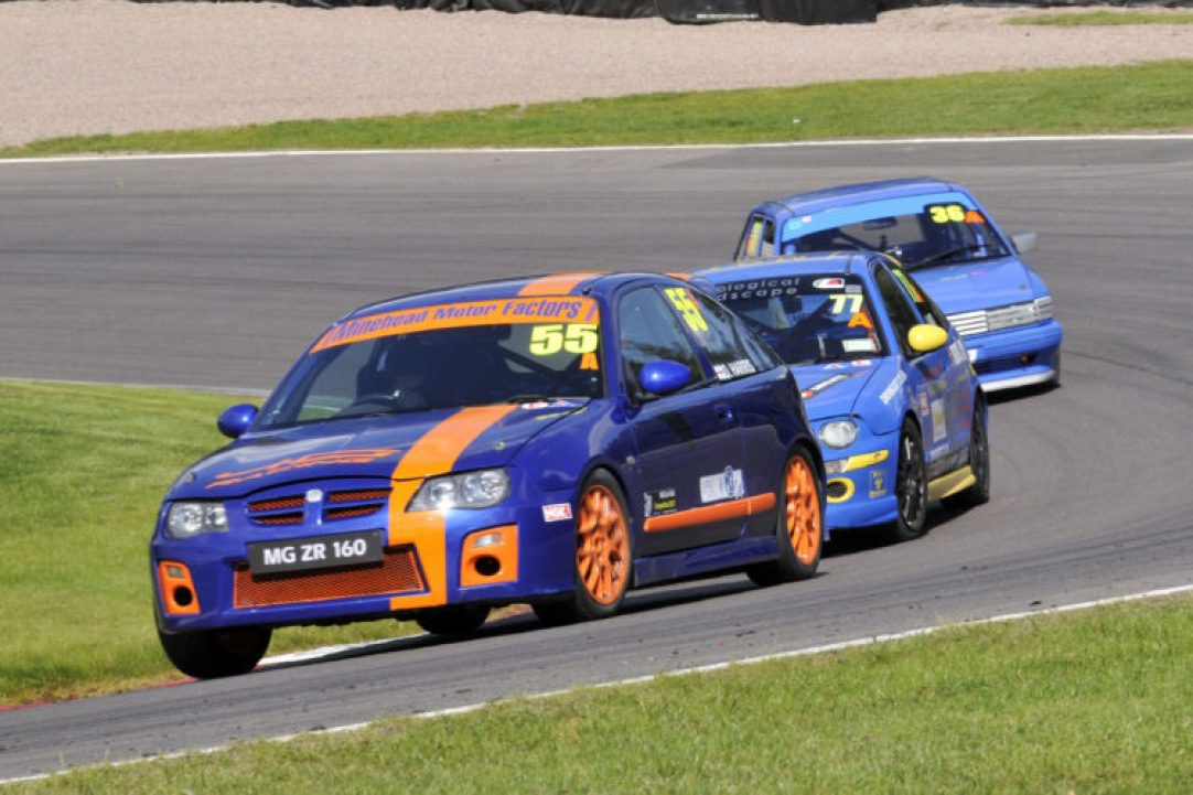 MG Trophy in action at Oulton Park
