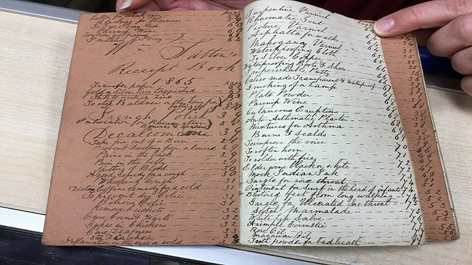 St Ann's Hospice notebook