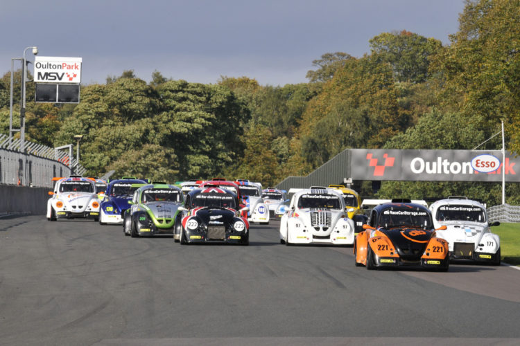 The Fun Cup Championship had a four hour race at Oulton Park