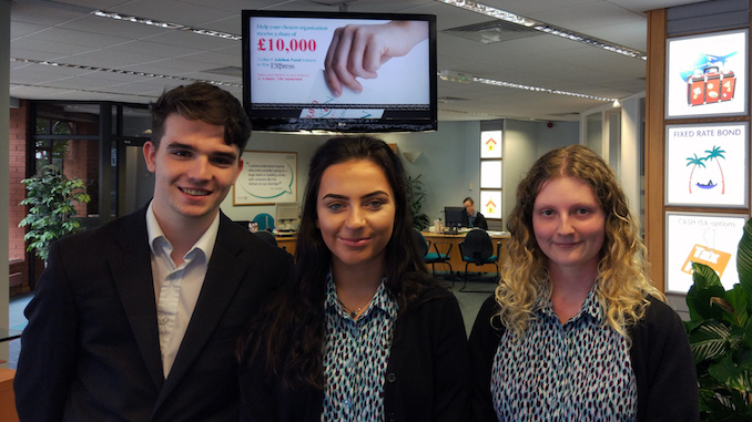 James Corrigan, Libby Maugham and Melissa Fyfe