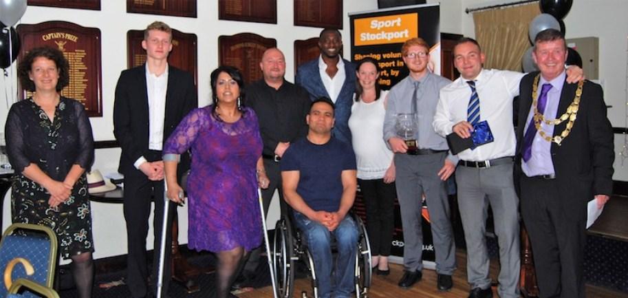 Sport Stockport's annual sports awards winners