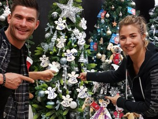 Strictly stars Gemma Atkinson and partner Aljaz Skorjanec