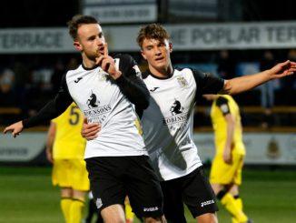 Matty Warburton. Southport FC 0-3 Stockport County FC, Buildbase FA Trophy, 29.11.17