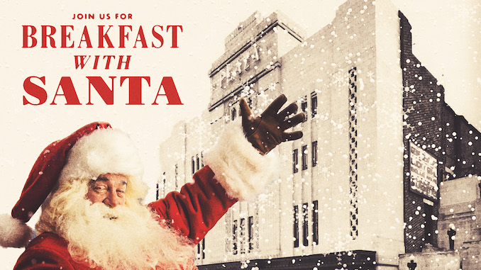 Breakfast With Santa at Stockport Plaza