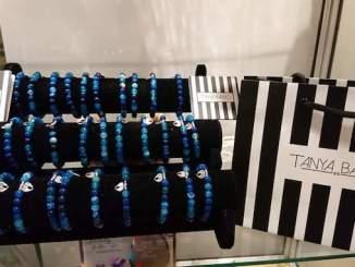 The bracelet designed by Tanya Bardsley