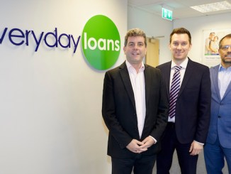Jon Wiggins from Everyday Loans with Rhys Owen and Paul Brady