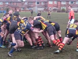 Dom Rafferty passes away for Heaton Moor