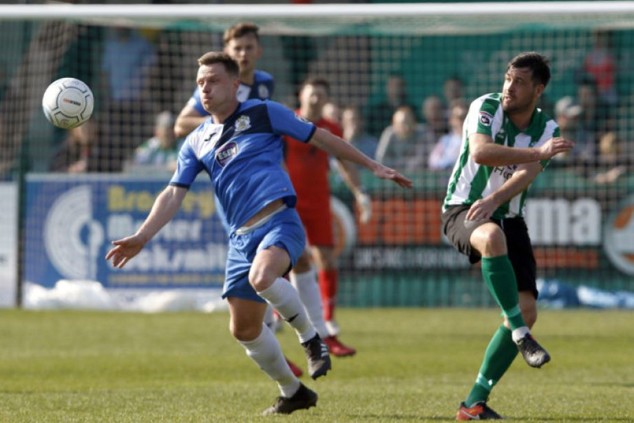 Paul Turnbull chases the ball down