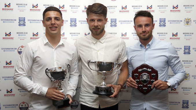 Stockport County honour players of the season at awards night