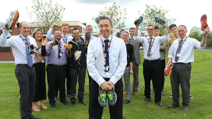 Hazel Grove High School staff and students to tackle the Great Manchester Run