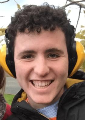 Seashell Trust student James Farley