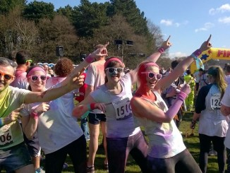 The St Ann's Hospice ObstaColour Run