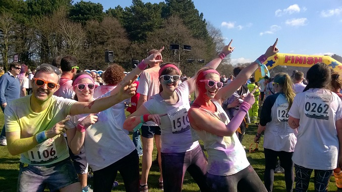 The St Ann's Hospice ObstaColour Run