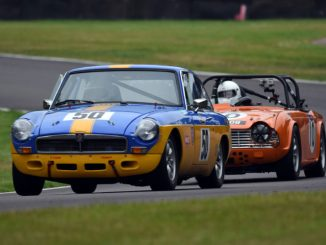 Swinging Sixties in action at Oulton