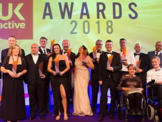 Life Leisure staff at the ukactive Active Uprising Awards
