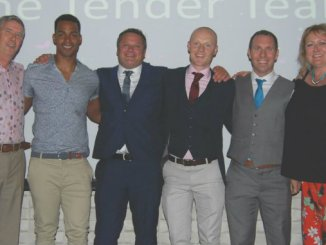 The Life Leisure Team of the Year - the Tender Team