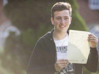 Former Manchester Grammar School pupil Harrison Engler