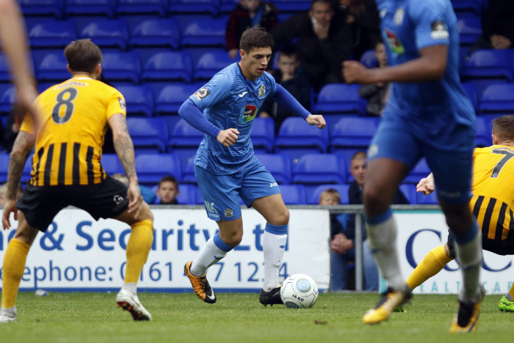 Scott Duxbury, Stockport County 0-2 Boston United