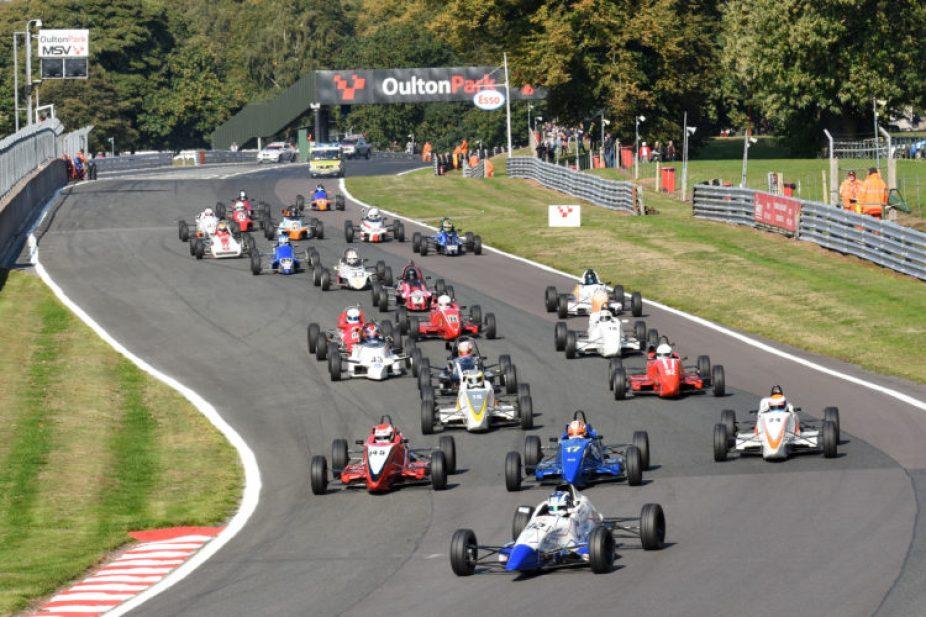 Formula Fords at Oulton Park