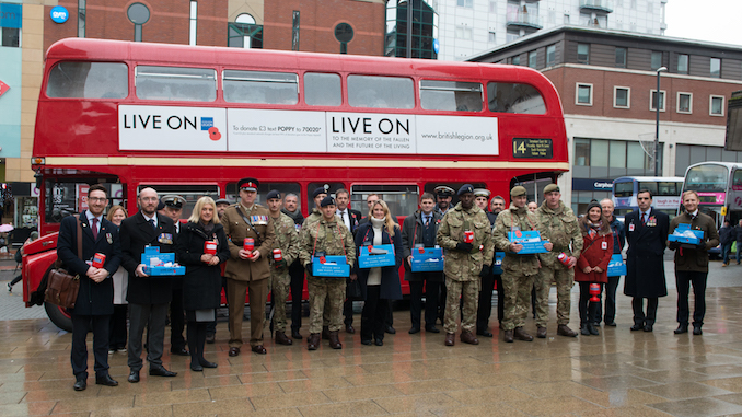 British Legion looking for Manchester Poppy Day volunteers