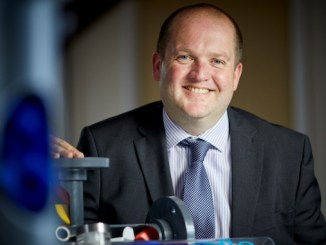 Statiflo managing director Gareth Fry