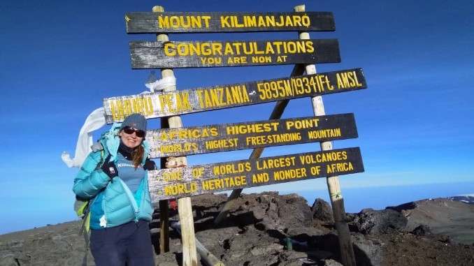 Seashell Trust fundraiser's advice for Kilimanjaro celebrities after raising £2,000