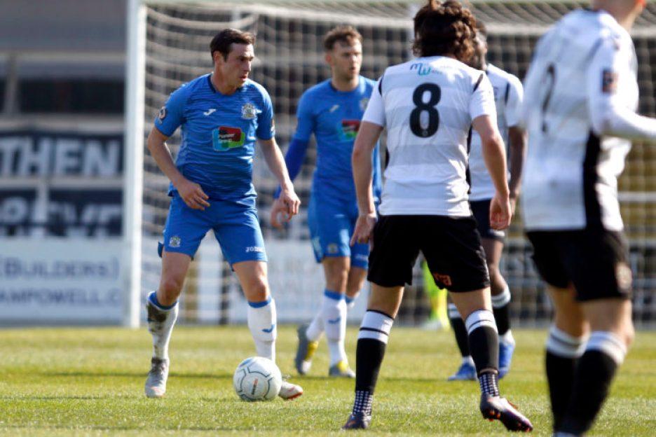 Sam Walker. Hereford FC 2-2 Stockport County FC. Vanarama National League North. 6.4.19