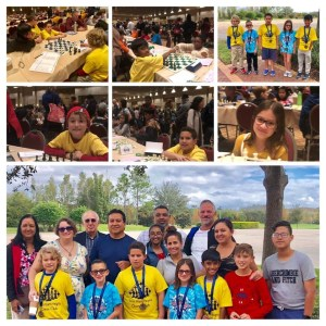 South Miami Heights Elementary chess players competed in the US Chess Federation National K-12 Grade Championships