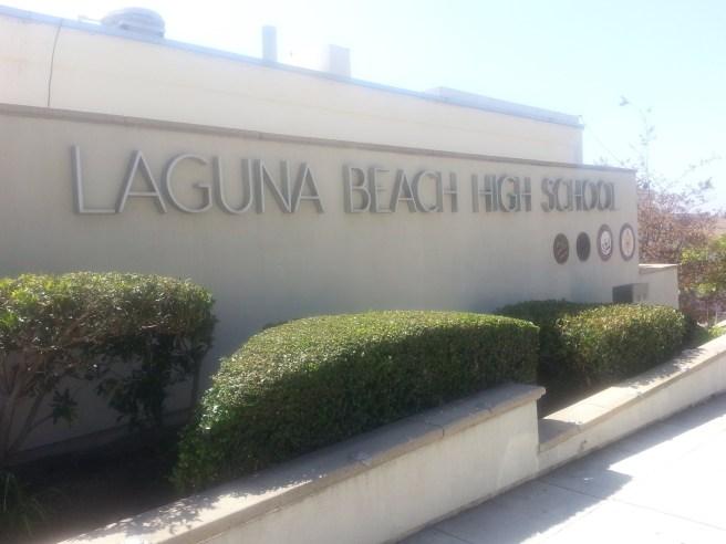 Laguna Beach High School by southocbeaches.com