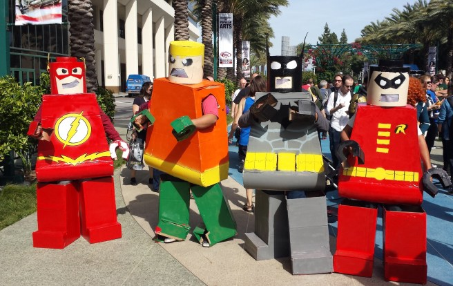 WonderCon2015 Lego 3D Cosplay Courtesy of SouthOCBeaches.com