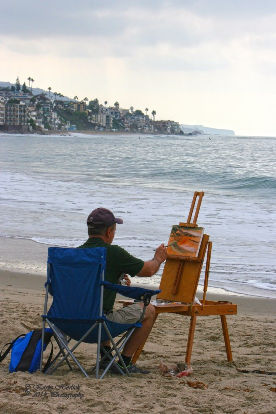 Laguna Beach Plein Air by www.karinhorlick.com