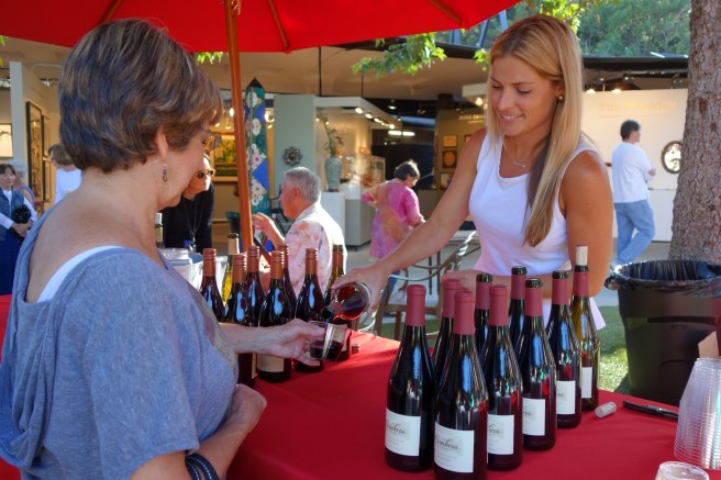 Art Wine Jazz and Chocolate www.foapom.com