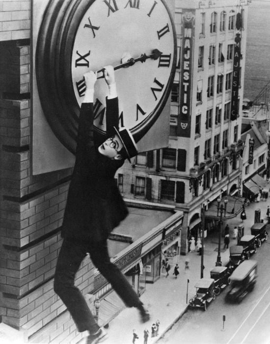 Harold Lloyd Safety Last Image