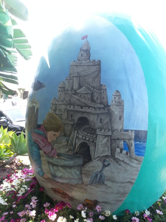 Easter Egg at Dana Point Ritz Carlton by southocbeaches.com