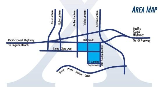 Dana Point Grand Prix 2016 Area Map