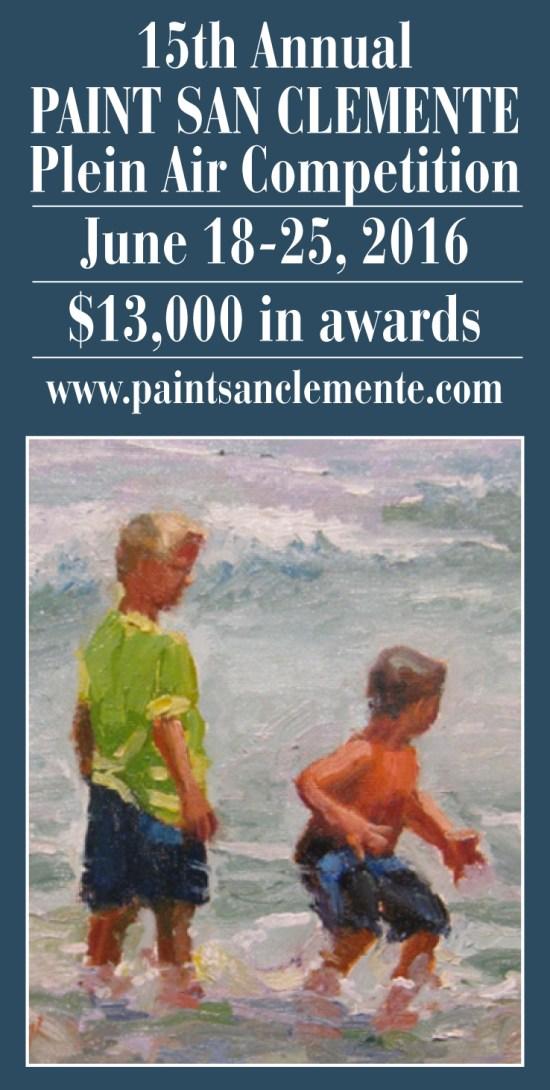Paint San Clemente Plein Air June 2016