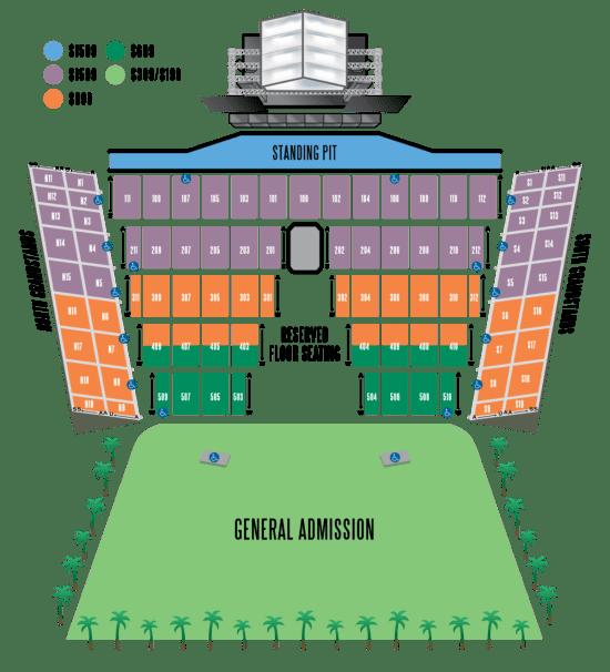 DesertTrip 2016 Venue Seating Chart
