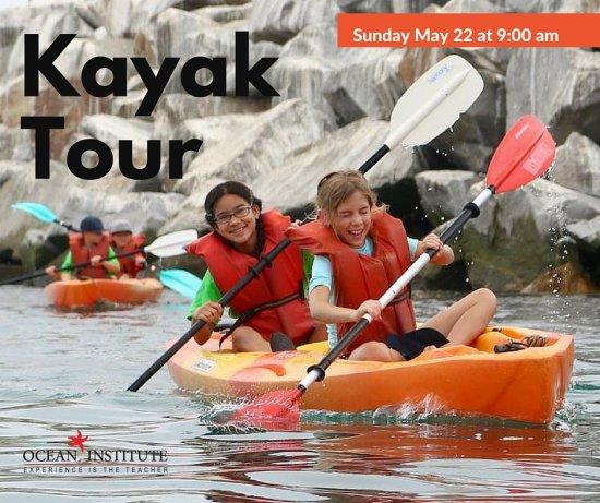 Kayak Tour Ocean Institute May 22 2016
