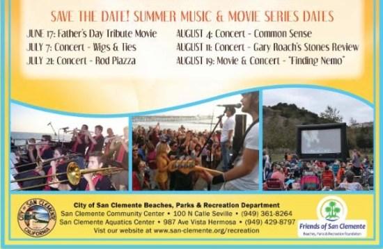 San Clemente Summer Concert Series 2016