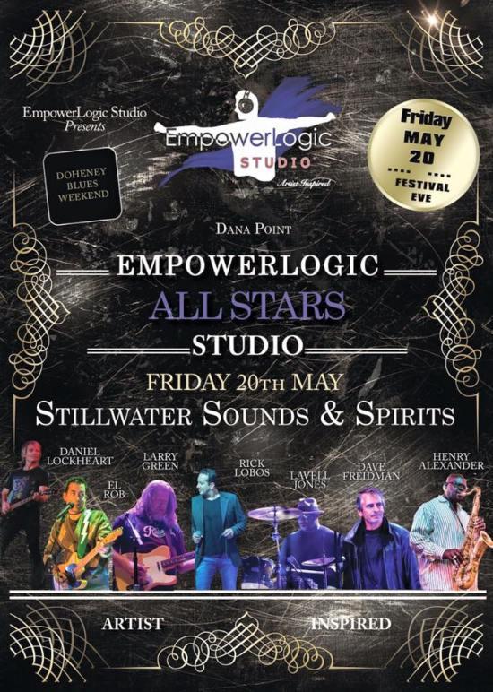Stillwater Doheny Blues Festival Eve May 20 2016