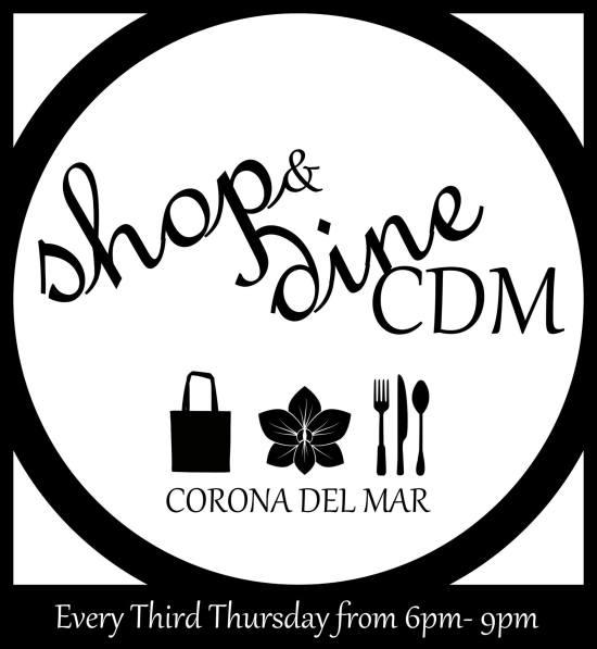 Shop & Dine Corona del Mar 2016