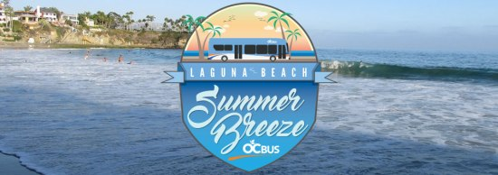 Laguna Beach Summer Breeze OC Bus Banner