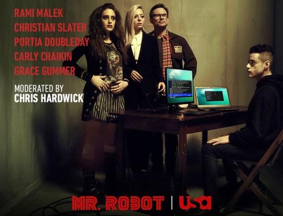 Mr. Robot USA at Comic Con July 21 2016