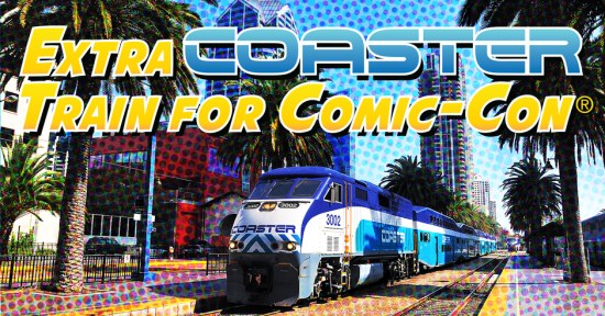 San Diego Coaster Train