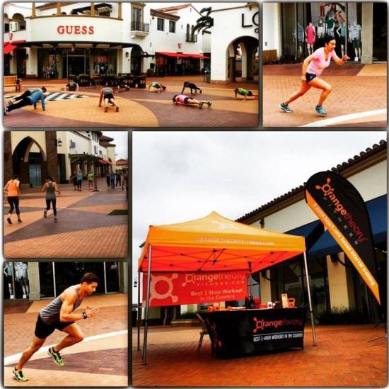The Outlets at San Clemente HIIT Free Workout Wednesdays