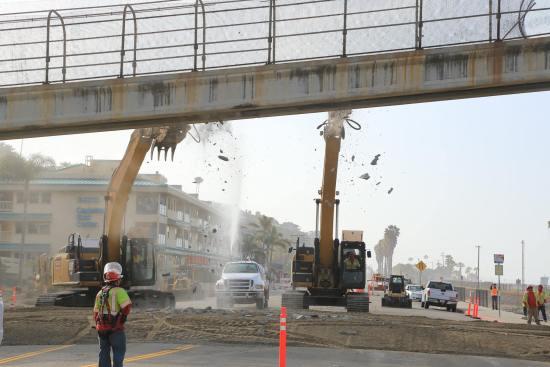 Capo Beach Bridge Construction Courtesy of OCPublicWorks.com