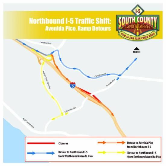 OCTA I-5 at Pico Fwy Traffic November 5 2016