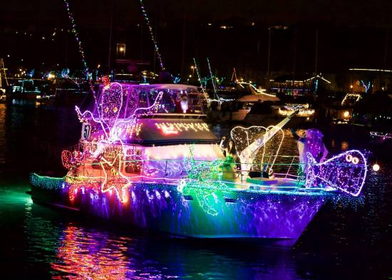 Dana Point Boat Parade Courtesy of DanaPointHarbor.com